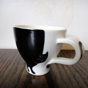 mug かぎしっぽのクロネコ