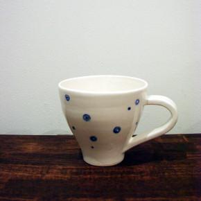 mug blue dot